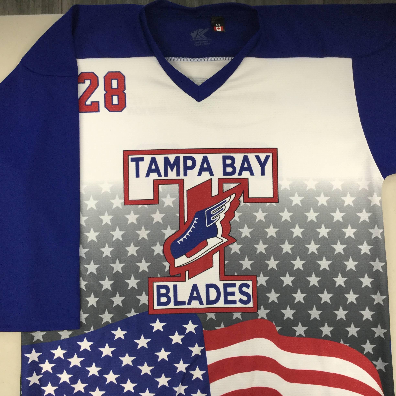 Custom Hybrid Sublimated Ice Hockey Jersey from Kobe Sportswear