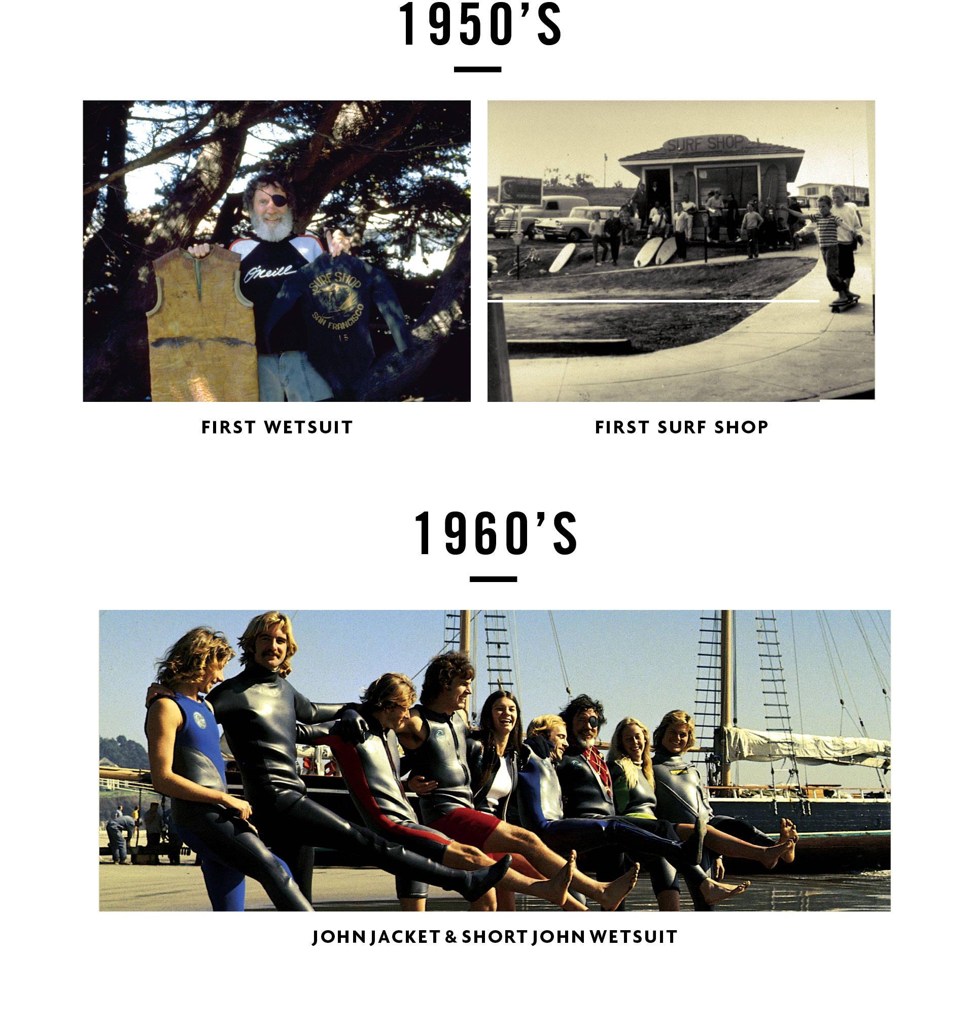 1950's & 60's