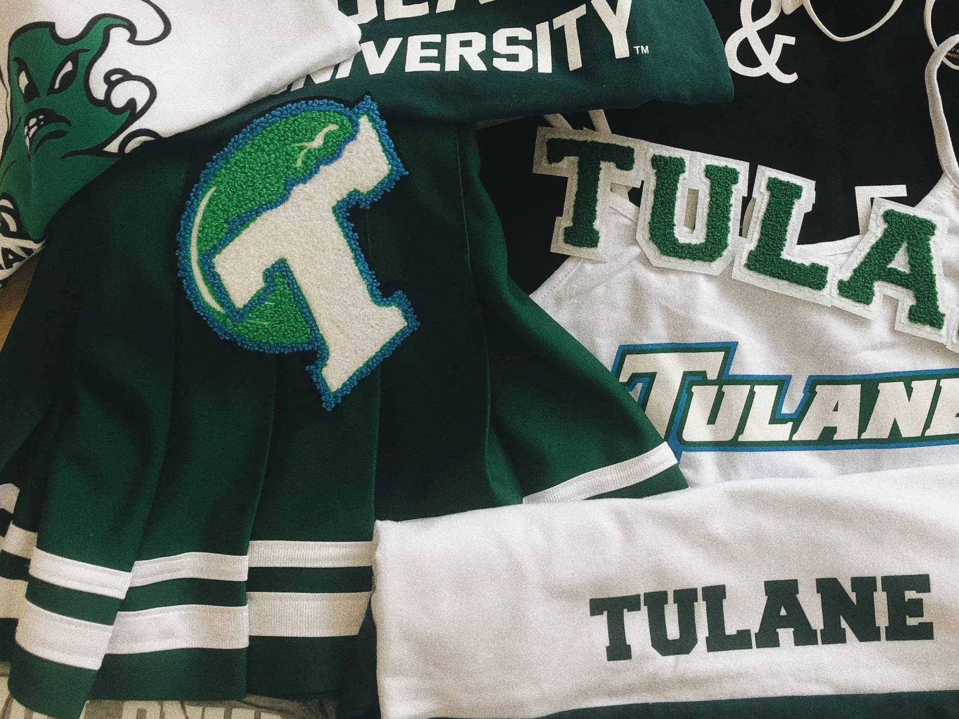 Tulane University college apparel for women. Cute and trendy!