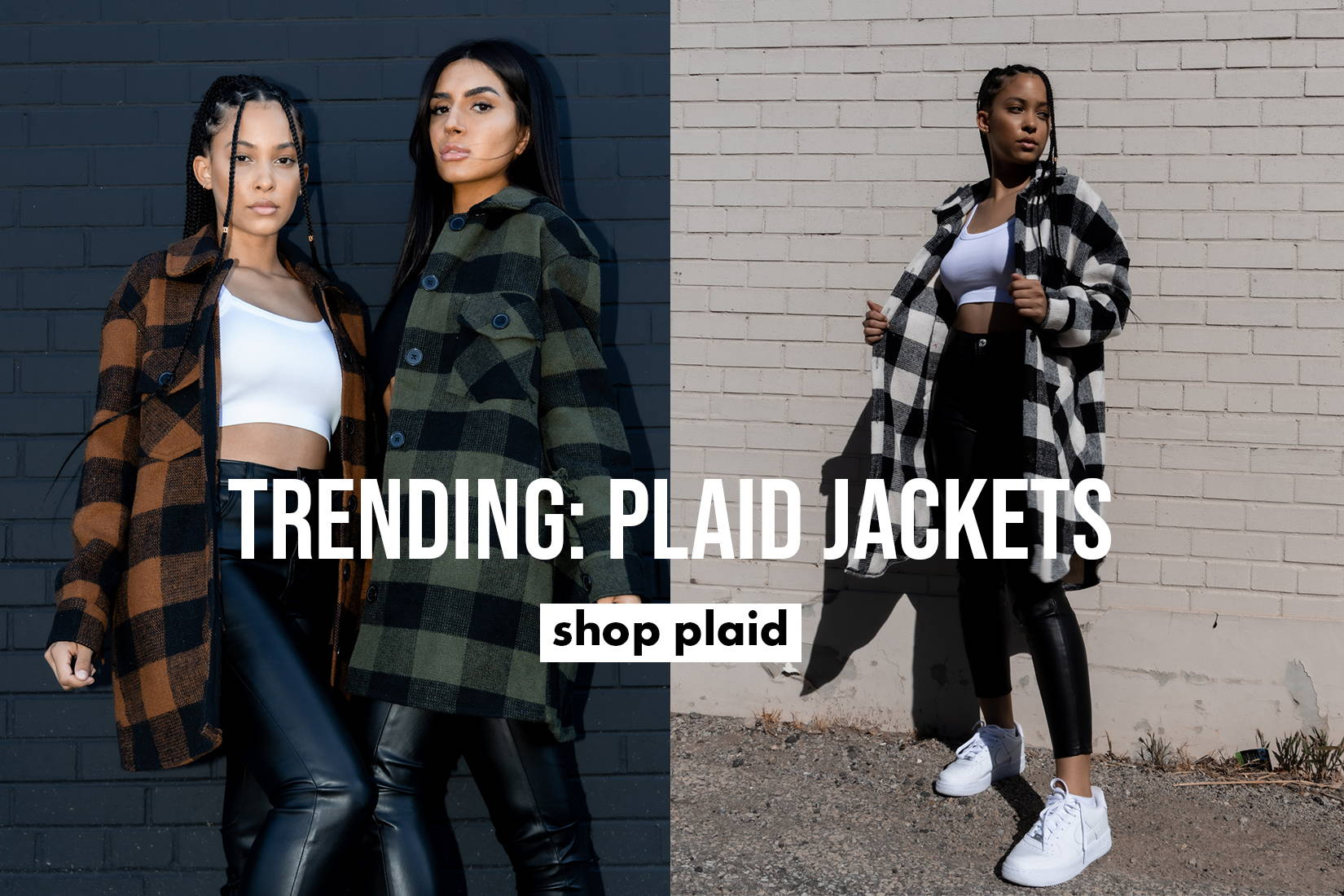 Shop Plaid Jackets