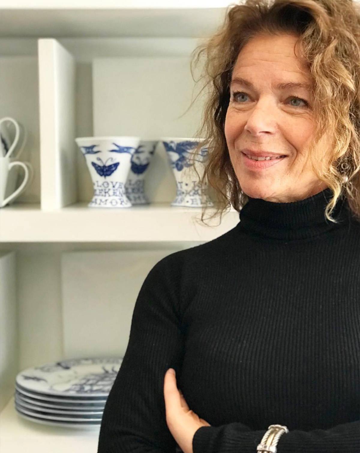 A photograph of Eva Gernandt