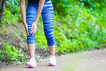 Kneee pain while running