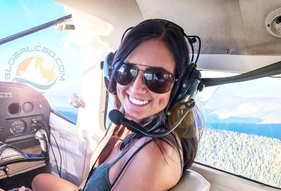 Global Cbd Owner Stephanie Thurmond On A Celebratory Flight For The CBD For Zayn Movement