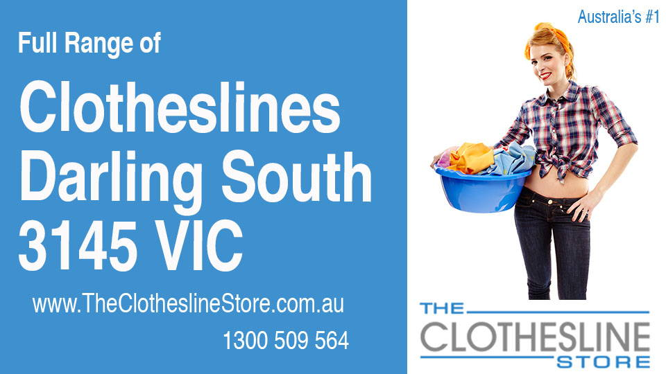 New Clotheslines in Darling South Victoria 3145