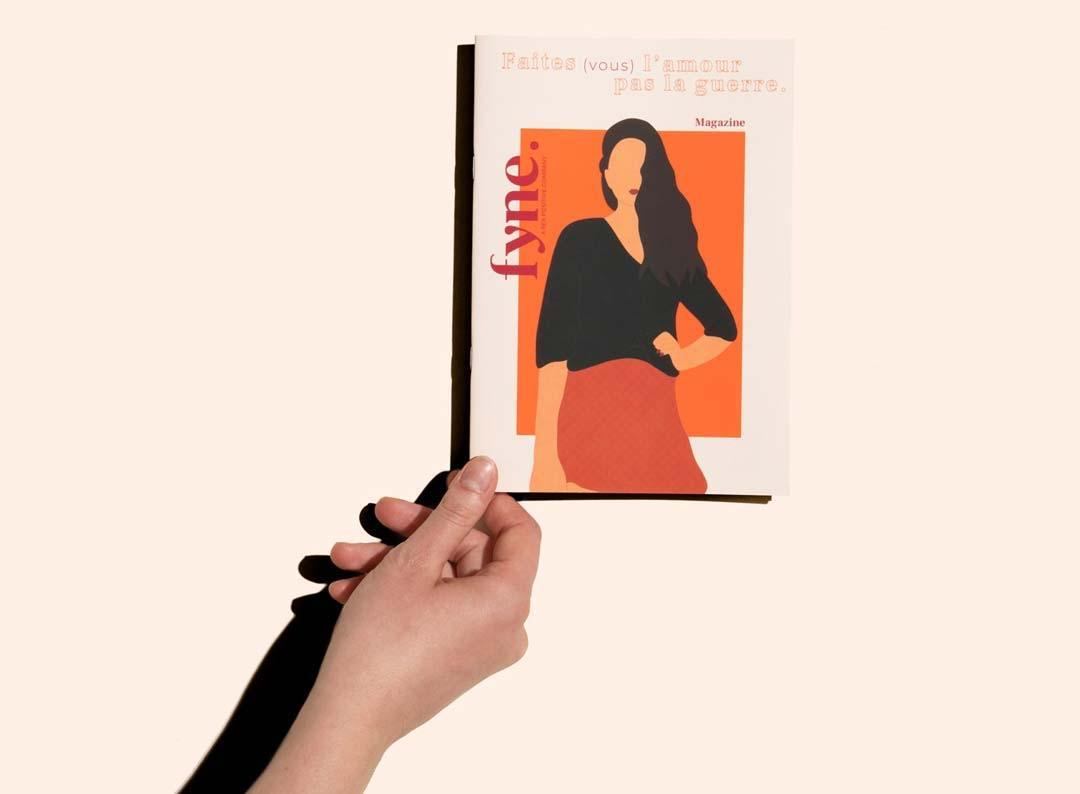 Image de la couverture du magazine fyne.
