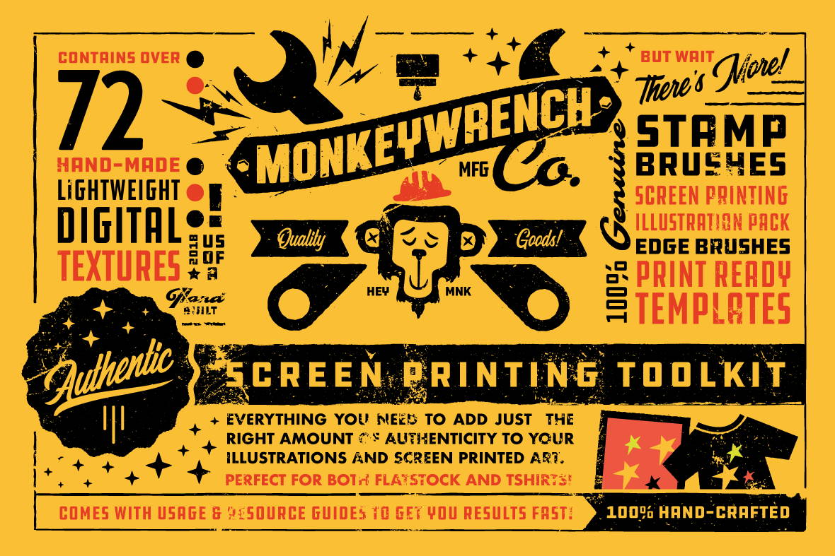 The Authentic Screen Printing Toolkit