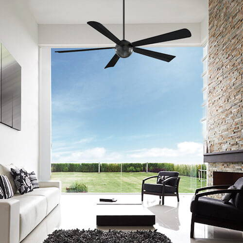 Modern Fans Smart Fans Orb Ceiling Fan