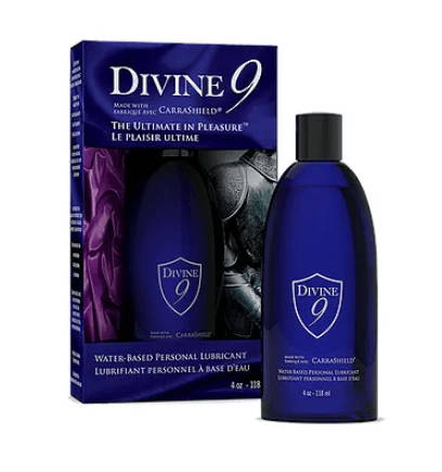 Divine 9 Water-Based Personal Lubricant