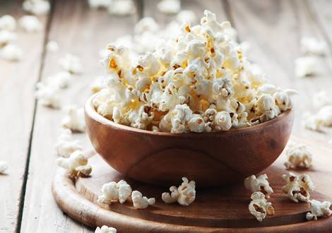 Popcorn Lebensmittel zum Abnehmen