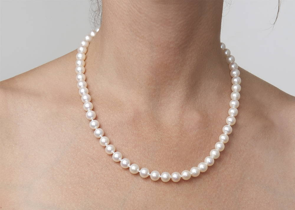 18-Inch-Pearl-Necklace-Length