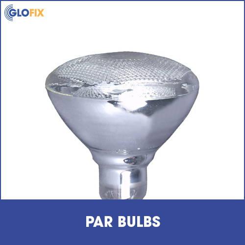 Range of par light bulbs