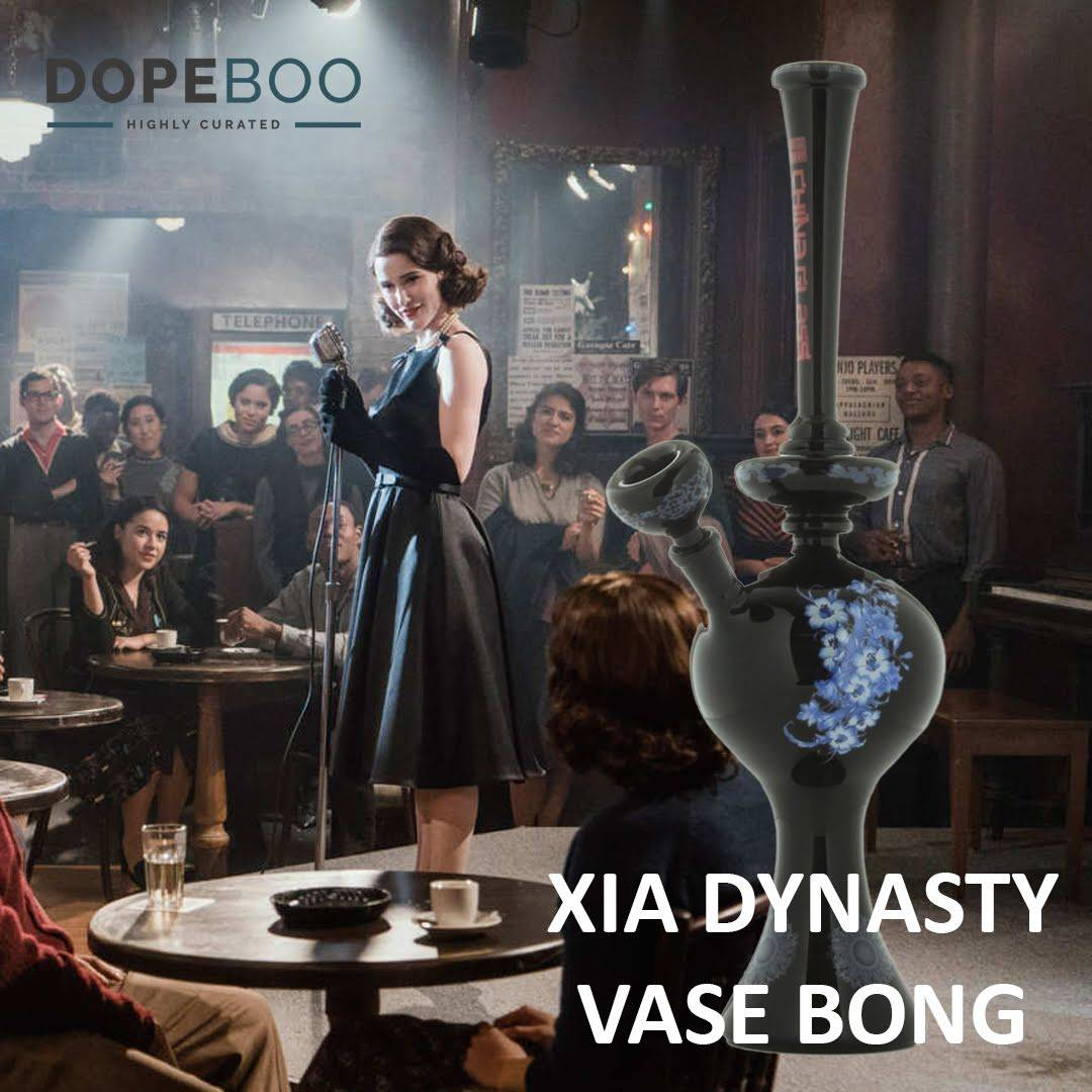 2018 Emmys: Marvelous Mrs. Maisel + Xia Dynasty Vase Water Pipe at DopeBoo.com