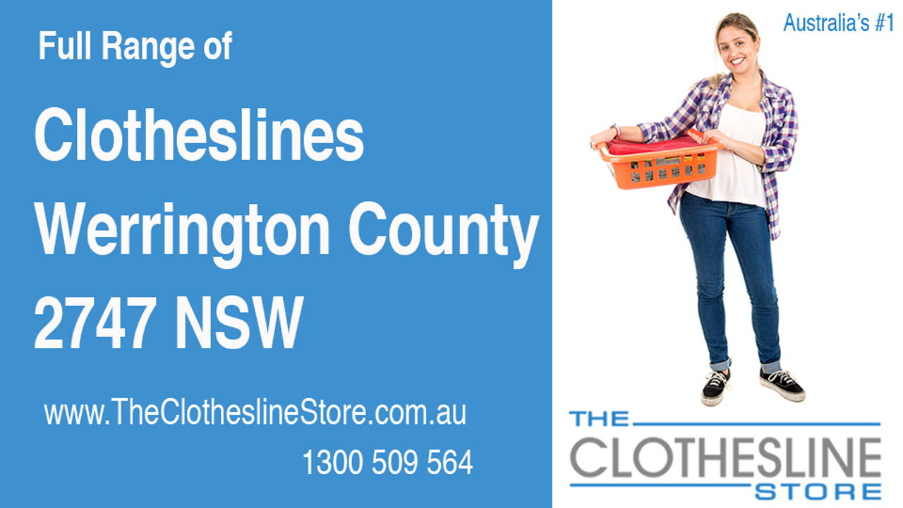 New Clotheslines in Werrington County 2747 NSW