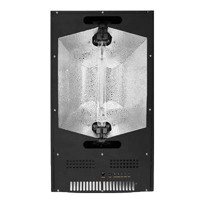 A Gorilla Grow Tent double ended grow light with dual inlets.