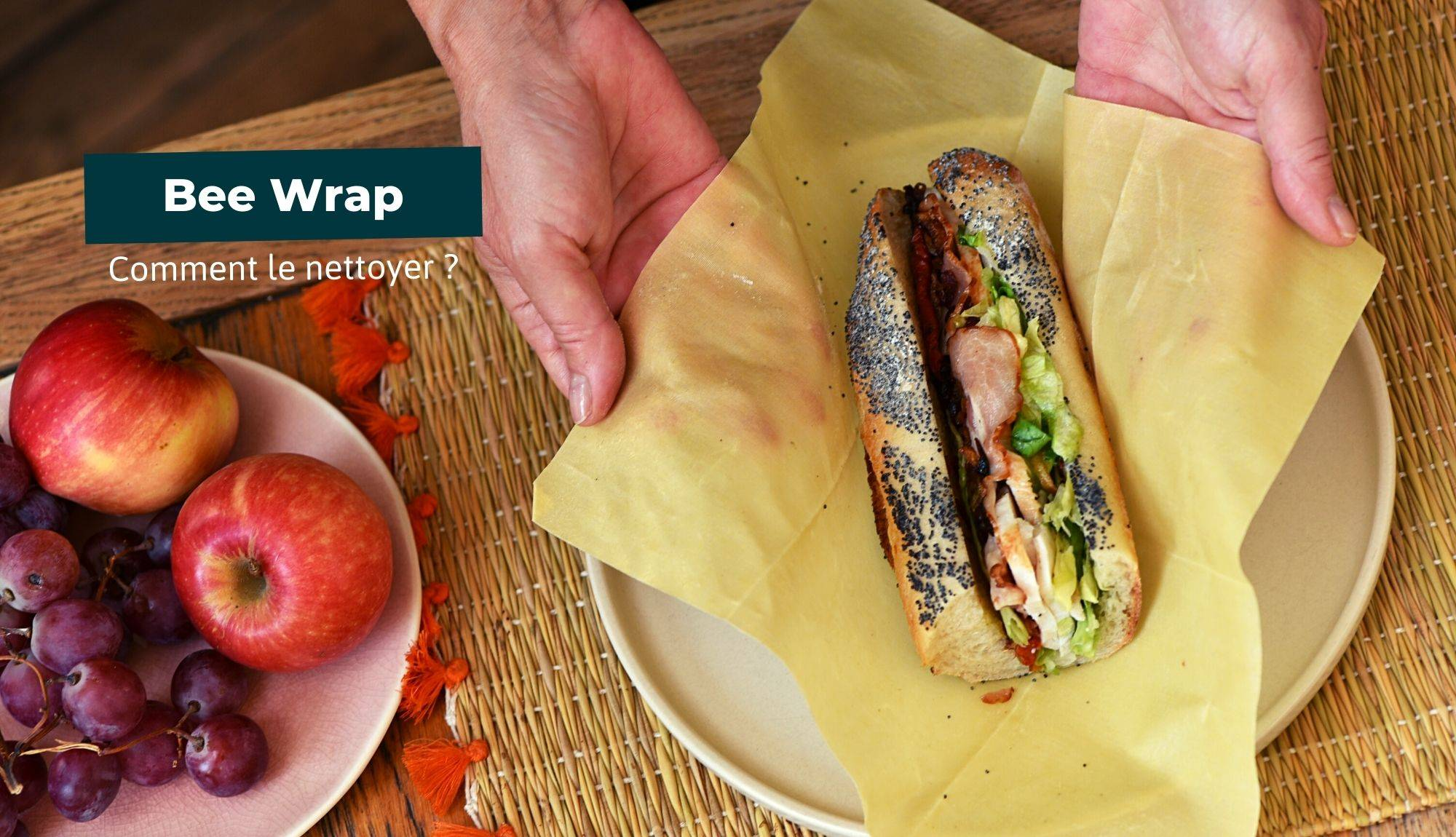 comment nettoyer son bee wrap