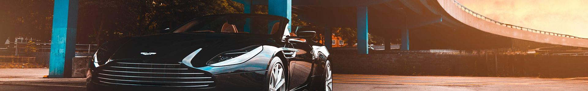 Aston Martin bodywork repair parts.