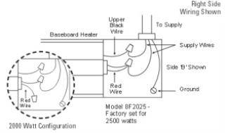 electric baseboard heater wiring diagram wiring diagram database