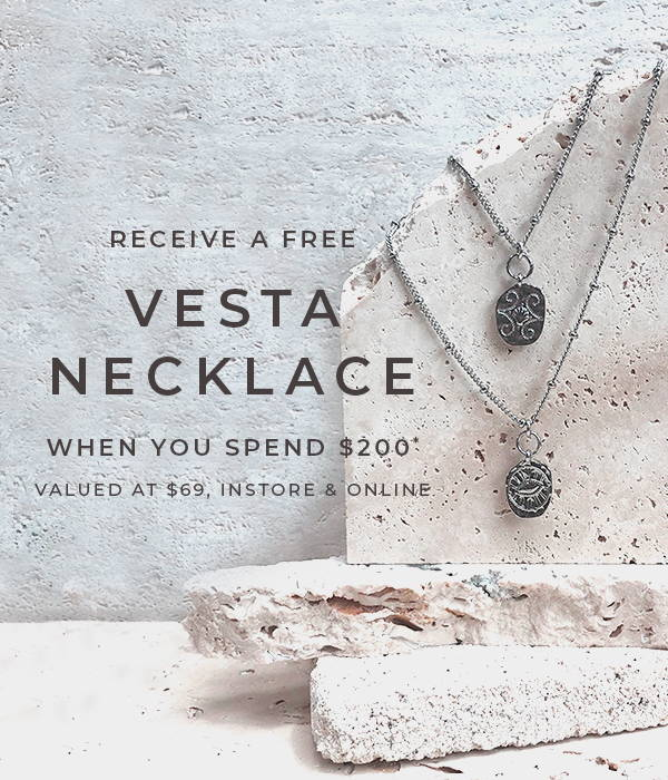 Receive A Free Vesta Necklace When You Spend $200*