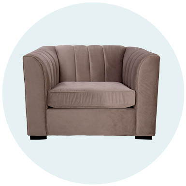 Naveen Chair and a half