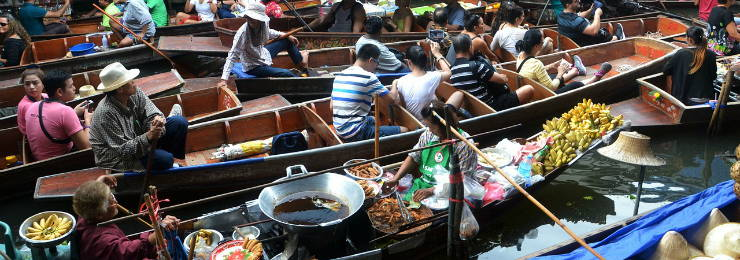 Experience a boat ride at Venice of the East