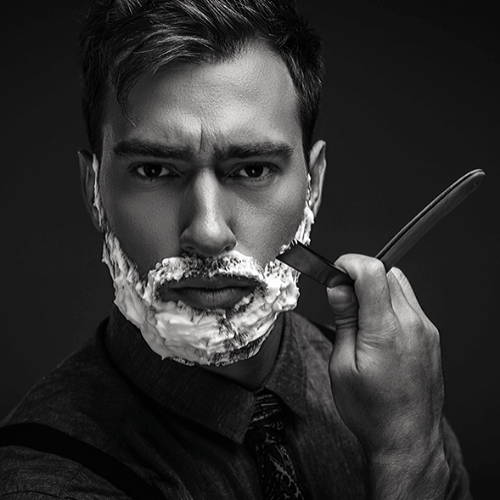 Wet Shaving with Straight Razor