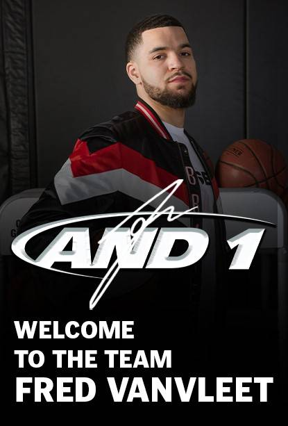 AND1 Welcomes Fred VanVleet as new brand ambassador. Fred VanVleet will be wearing AND1 throughout the season, including the all-new Attack 2.0.