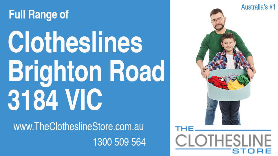 New Clotheslines in Brighton Road Victoria 3184