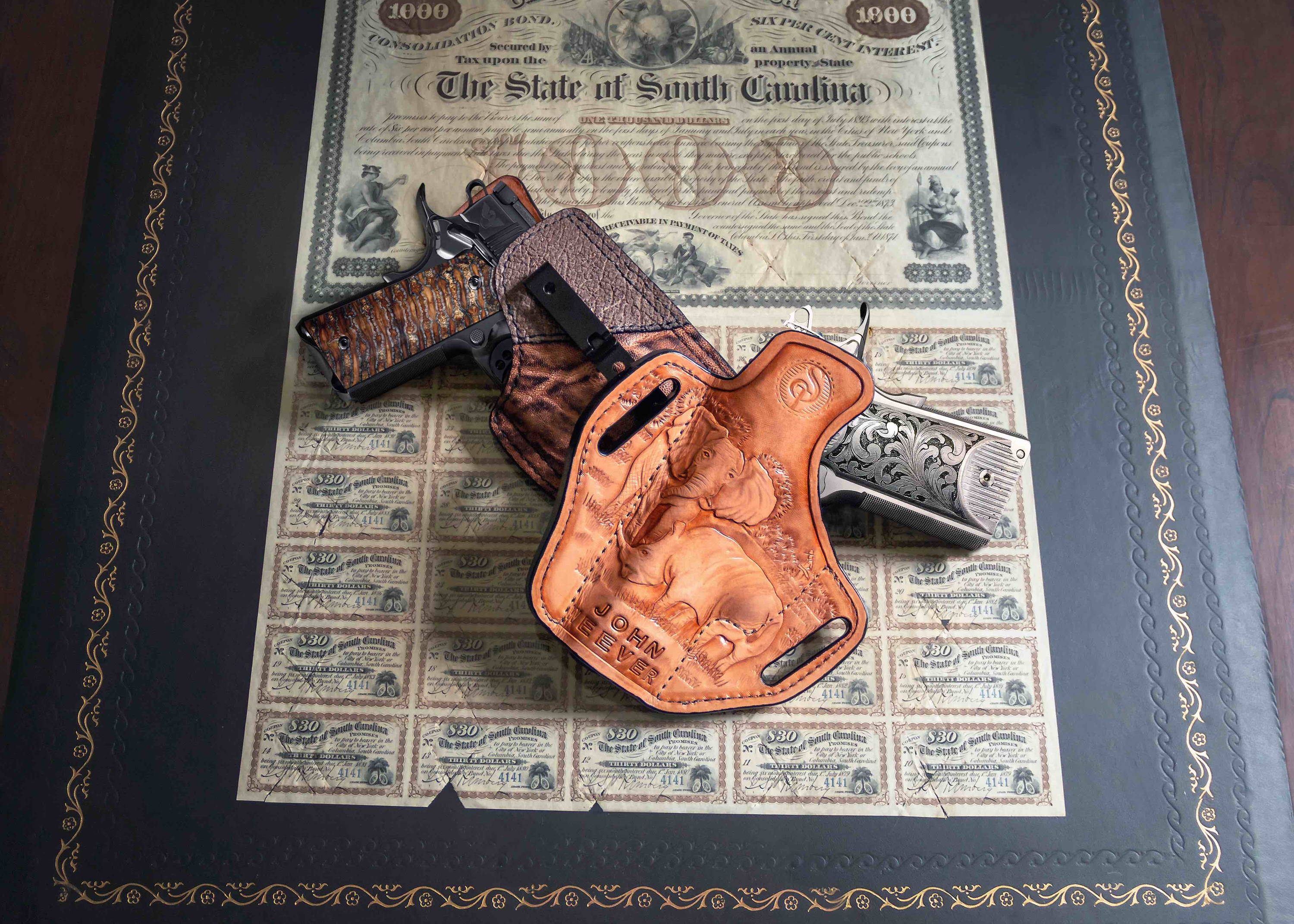 OWB Leather Holsters