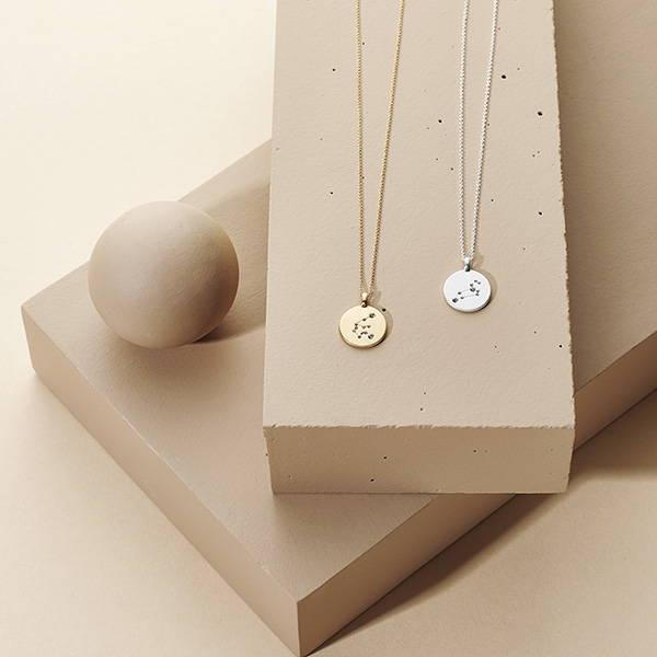 Tierkreiszeichen-Halsketten