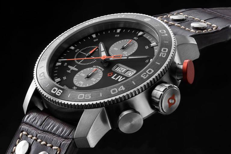 LIV P51 Pilot's Watch