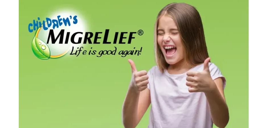 Children's. MigreLief - Life is good again!