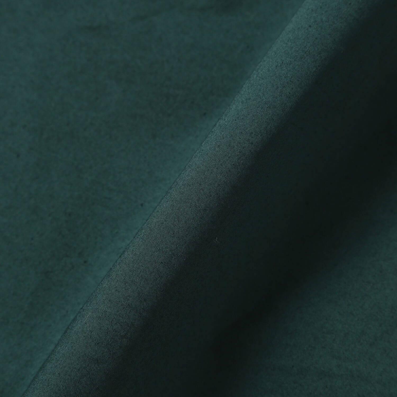 andwander(アンドワンダー)/レーザーホールオーバードライ ロングスリーブシャツ/グリーン/UNISEX