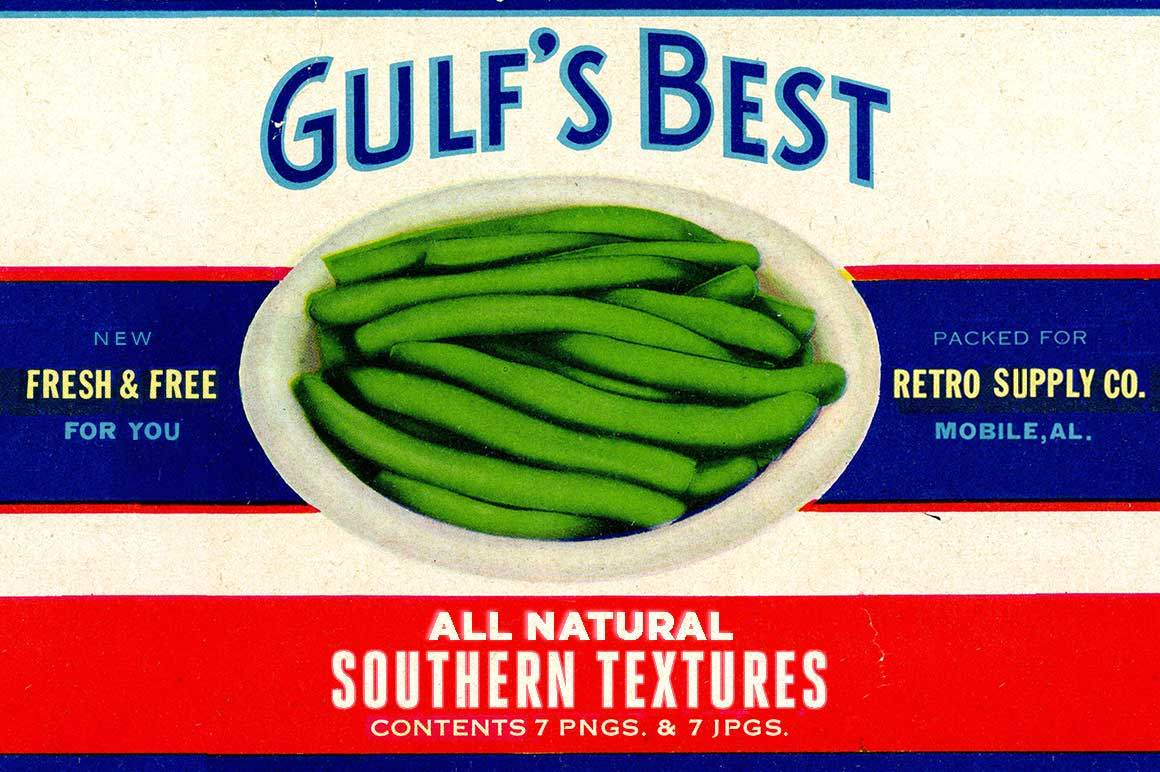 Southern Textures Green Beans Cover by RetroSupply