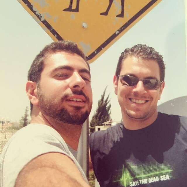 Tamer AlMasri and Michael Meesh Makdah Cofounders of Jobedu