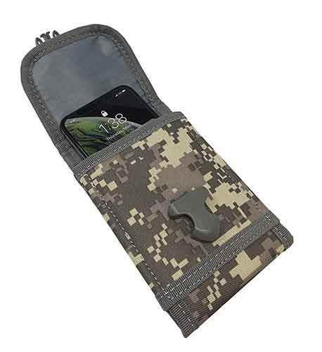 Molle Tactical Phone Case with Clip for LG