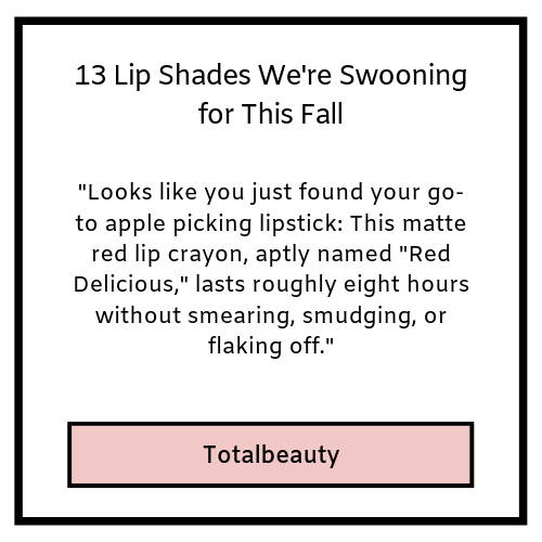 13 lip shades we are swooning over for this fall- totlbeauty