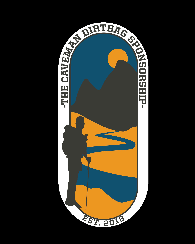 The Caveman Dirtbag Sponsorship Logo