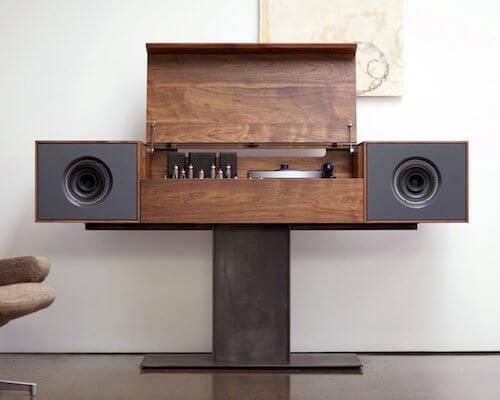 BDI Modern Record Console