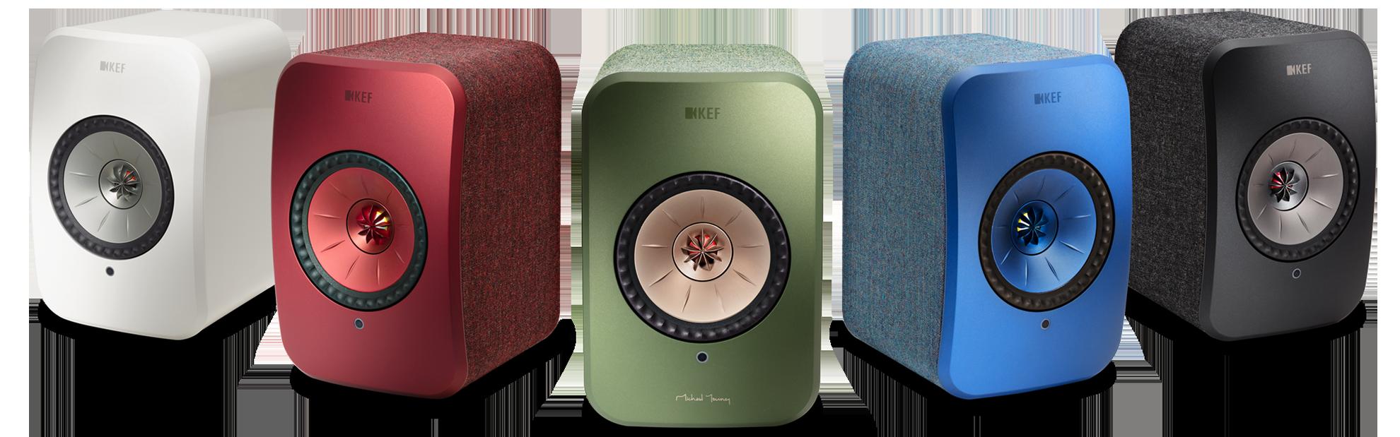 LSX Draadloze Speakers in 6 Verschillende Kleuren