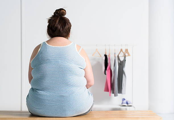 Fat woman weight loss resistance