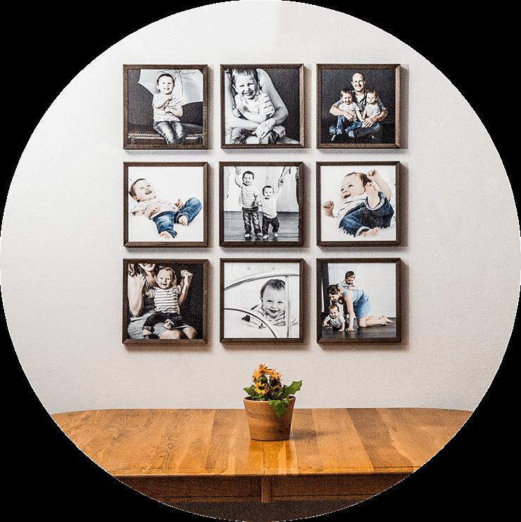 Design Aglow Framed Prints