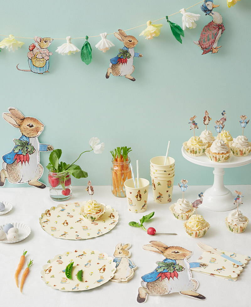 Meri Meri Peter Rabbit /& Friends Gro/ße Serviette