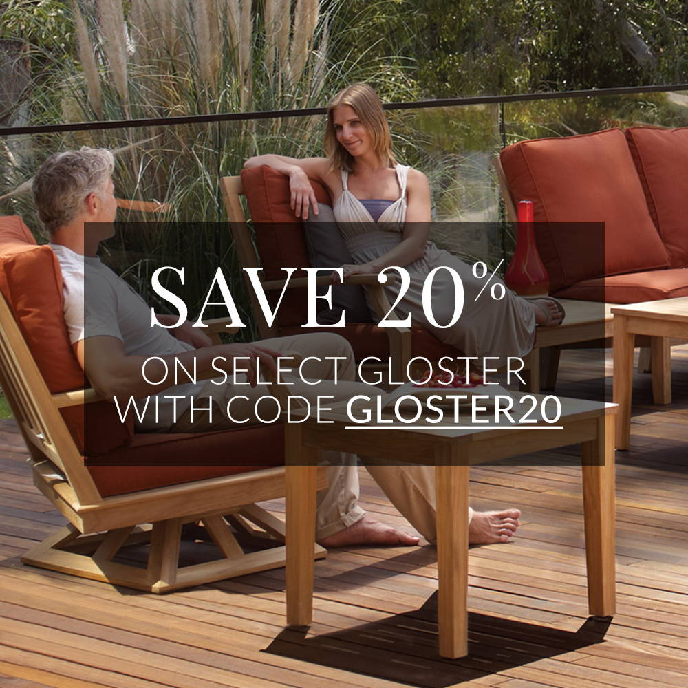 As one of the top brands in the outdoor living industry, Gloster outdoor  furniture is notorious for ... - Gloster Collection Sales Event - Save Big On Gloster Outdoor Furniture