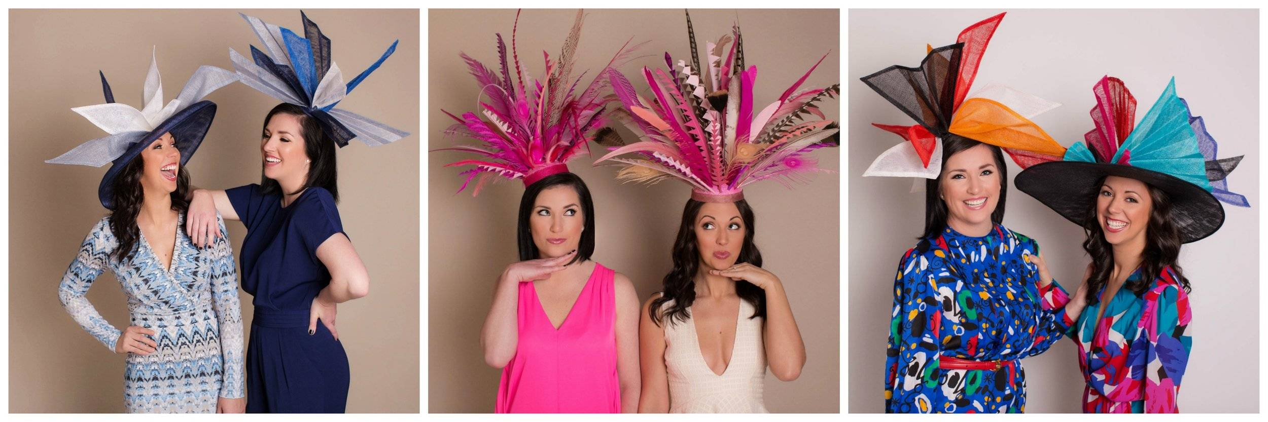 The Hat Girls Design And Create Custom Headwear For All Occasions Specializing In The Kentucky Derby The Designers Kate And Rachel Are Louisville