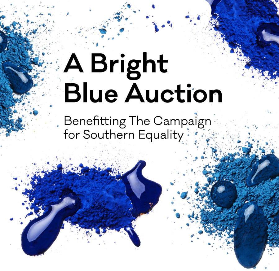 A Bright Blue Auction For CSE