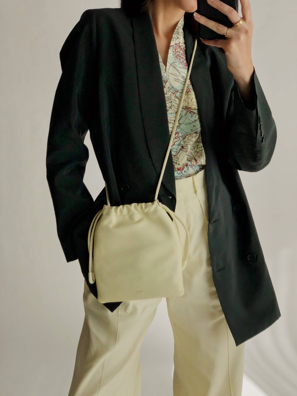 Women's Blazer and Oroton Crossbody Bag