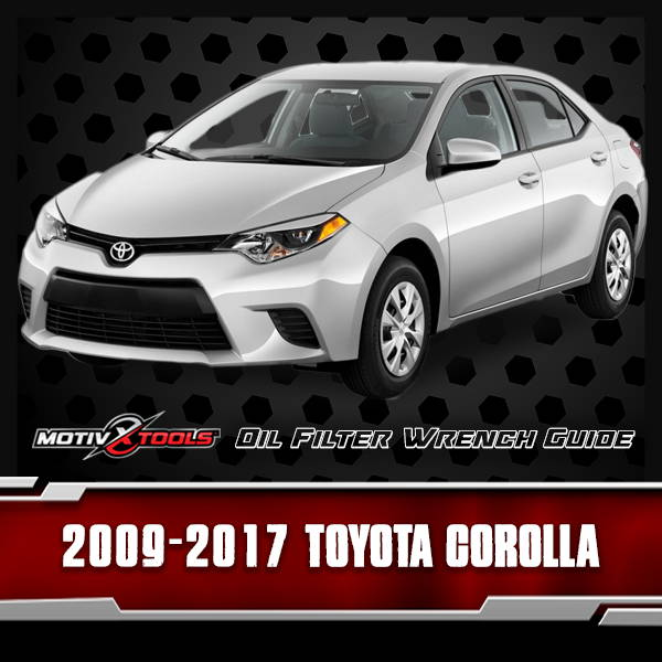 2009 - 2017 Toyota Corolla Oil Filter Wrench Guide