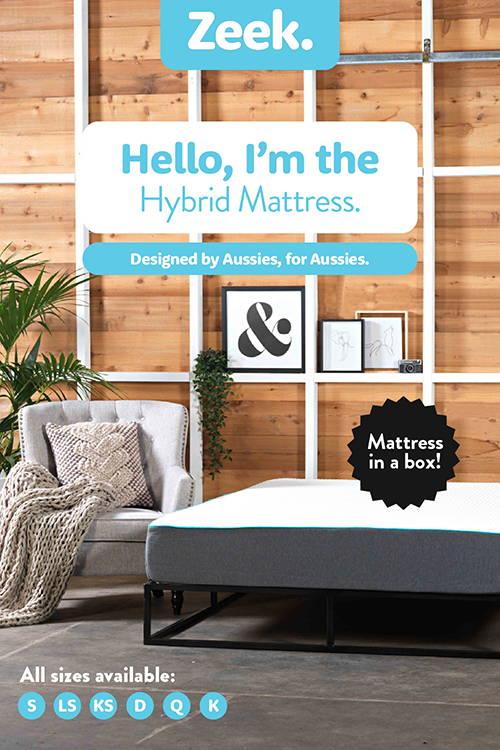 The Zeek Hybrid Mattress