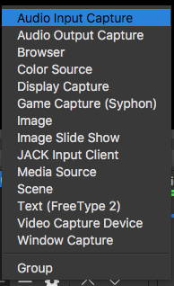 Add source menu for macOS