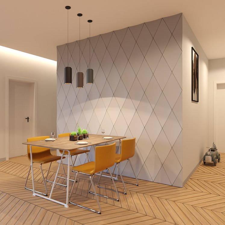 Diamonds 3D PolyFOAM Wall Panels